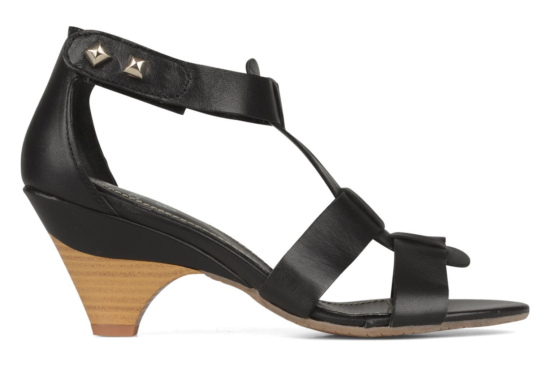 Sandales et nu-pieds Perlato Kusmi Noir vue derrière