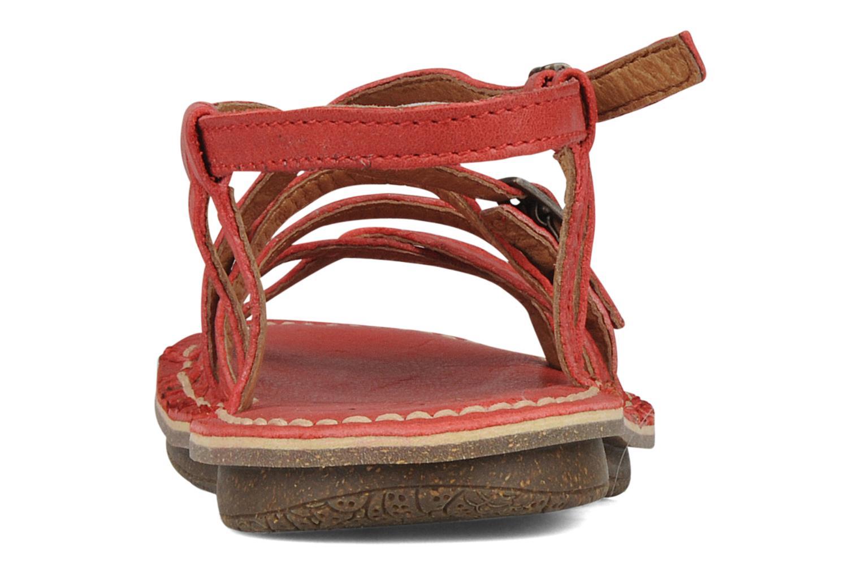 Sandales et nu-pieds Kickers Pinuts 2 Rouge vue droite