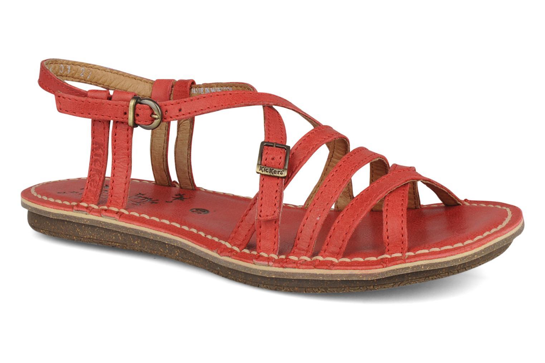 Sandales et nu-pieds Kickers Pinuts 2 Rouge vue détail/paire