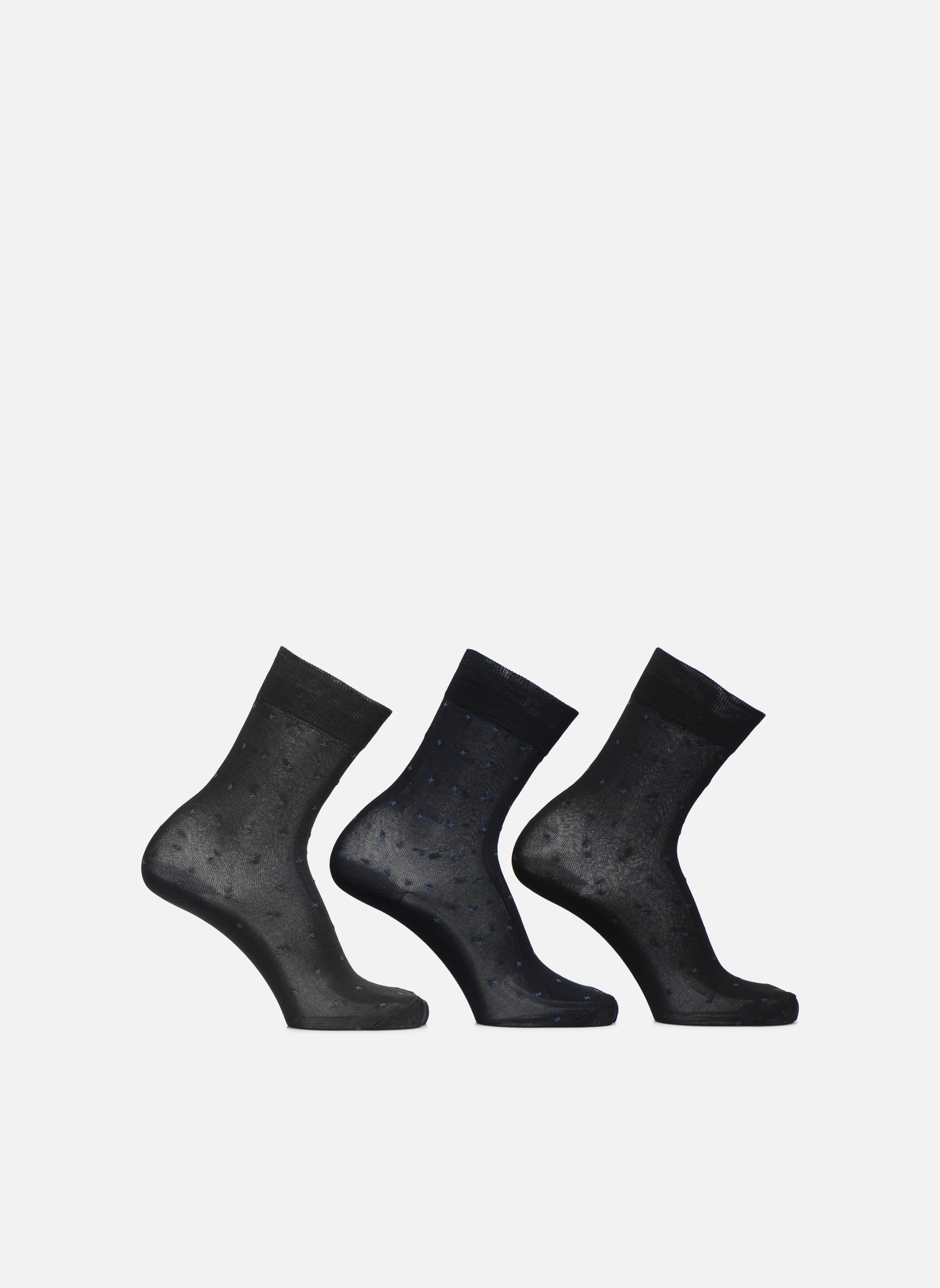 Calcetines Pack 3 victor Bleunoiranthracite