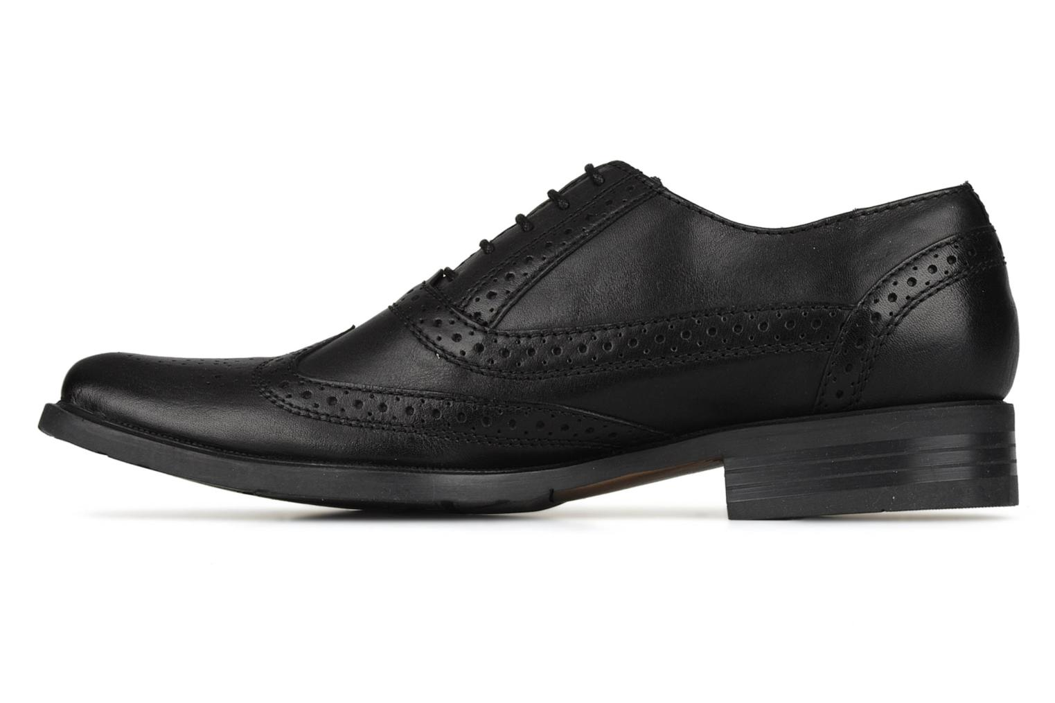 Lace-up shoes Hush Puppies Eastfield Black front view