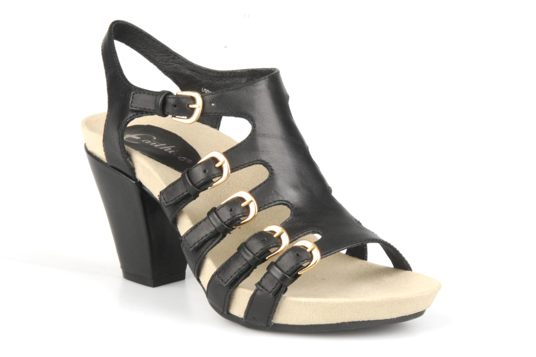 Sandales et nu-pieds Kalso Earth Larissa Noir vue détail/paire