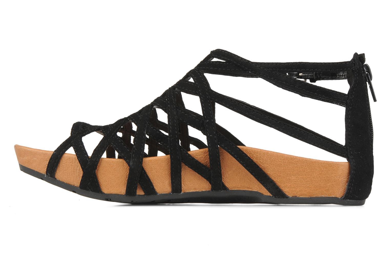 Sandales et nu-pieds Kalso Earth Exquisite Noir vue face