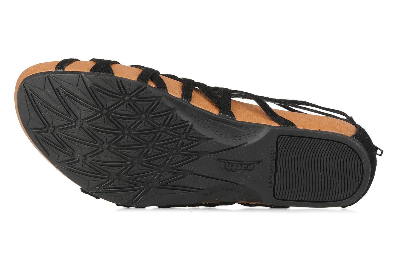 Sandales et nu-pieds Kalso Earth Exquisite Noir vue haut