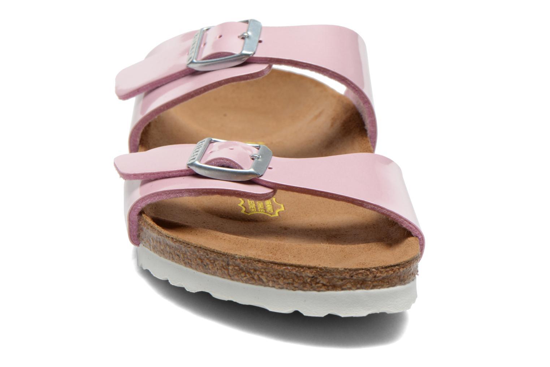 Clogs & Pantoletten Birkenstock Sydney Flor W rosa schuhe getragen