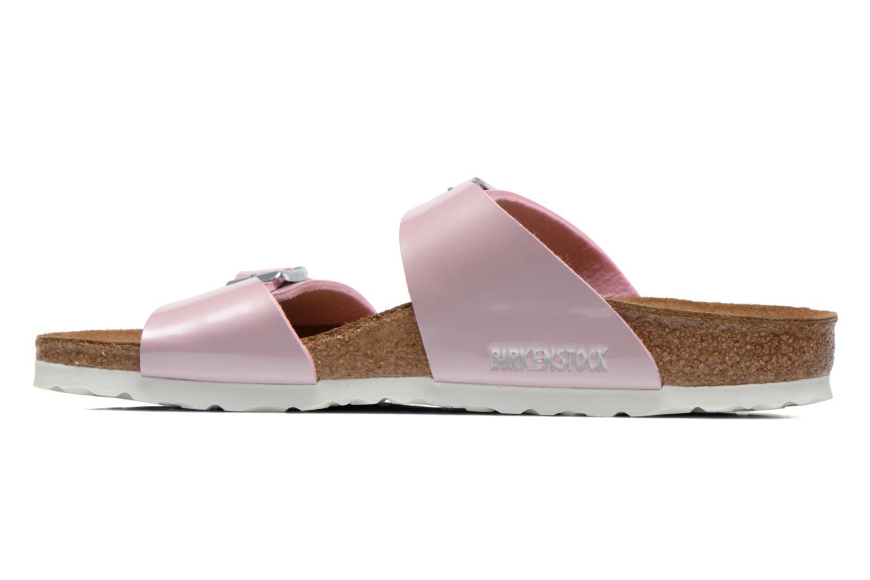 Clogs & Pantoletten Birkenstock Sydney Flor W rosa ansicht von vorne