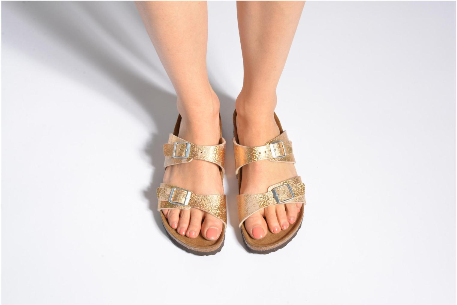 Mules & clogs Birkenstock Sydney flor w White view from underneath / model view