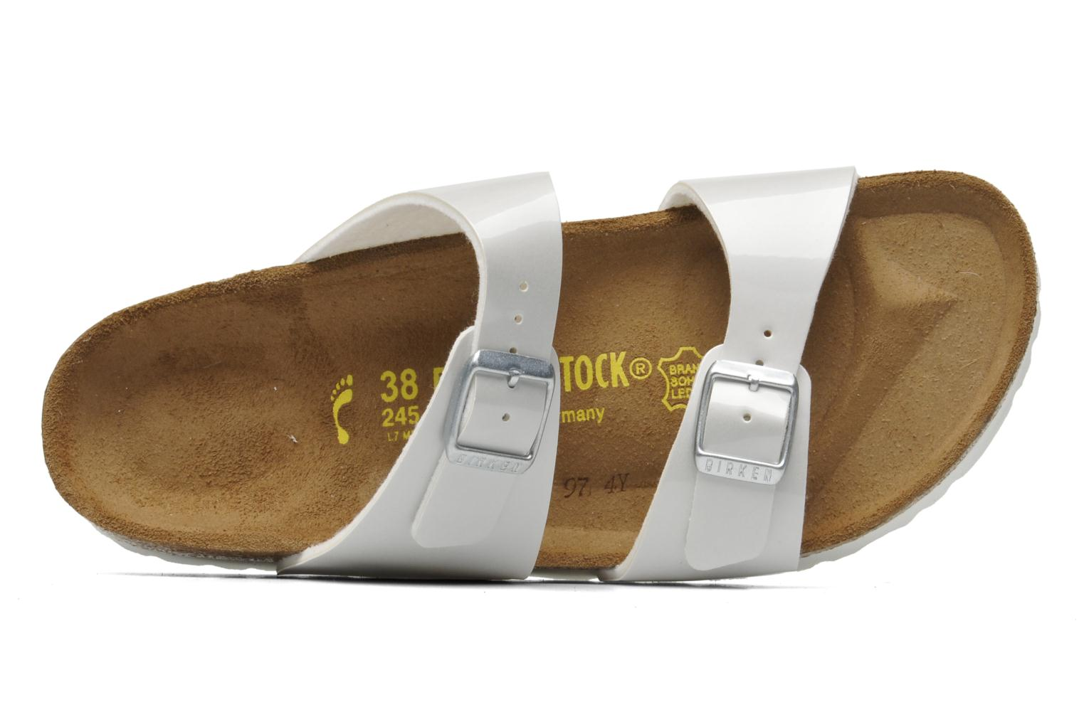 Mules & clogs Birkenstock Sydney flor w White view from the left