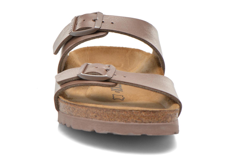 Clogs & Pantoletten Birkenstock Sydney Flor W braun schuhe getragen