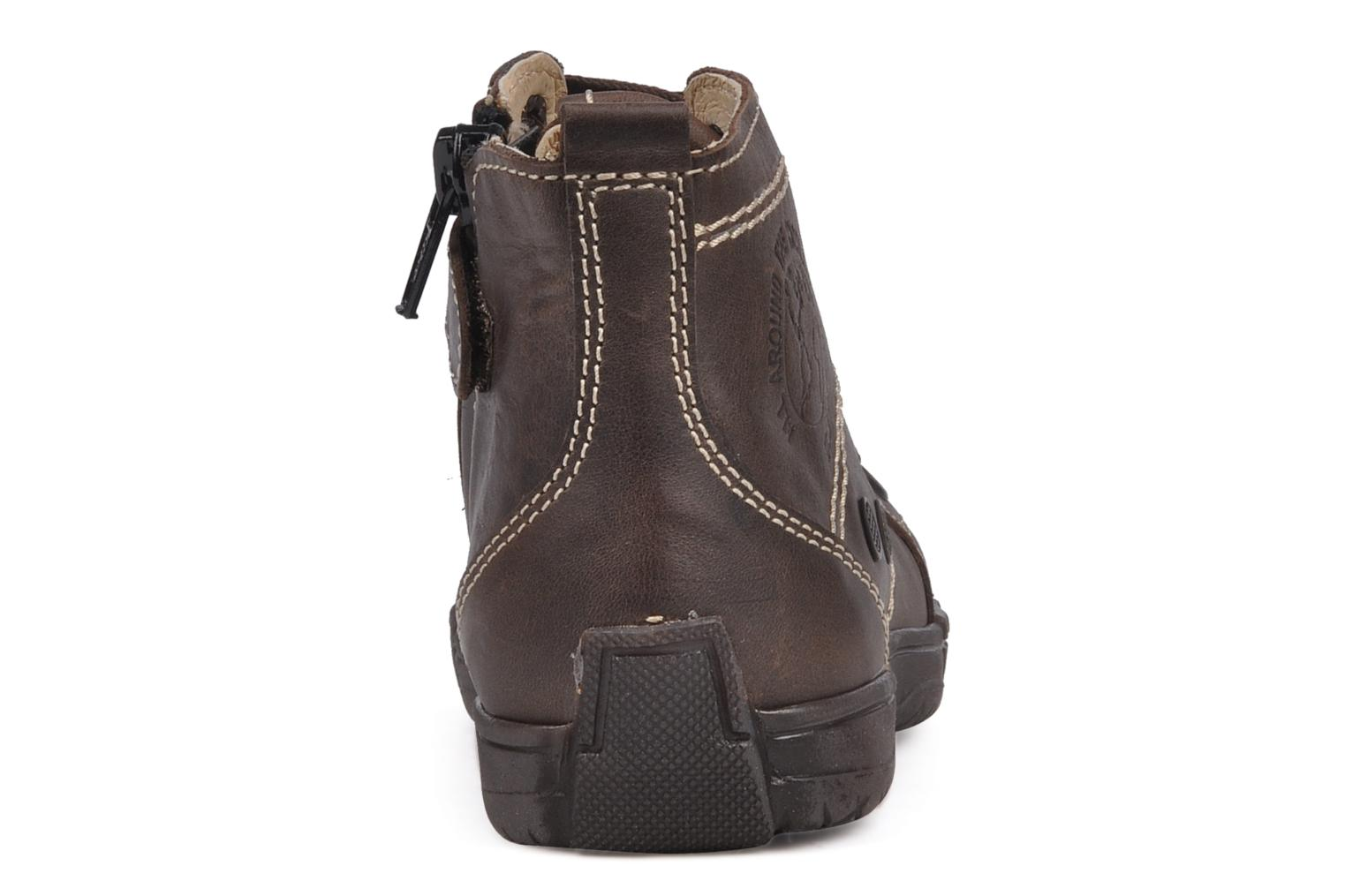 Ankle boots GBB Martin Brown view from the right