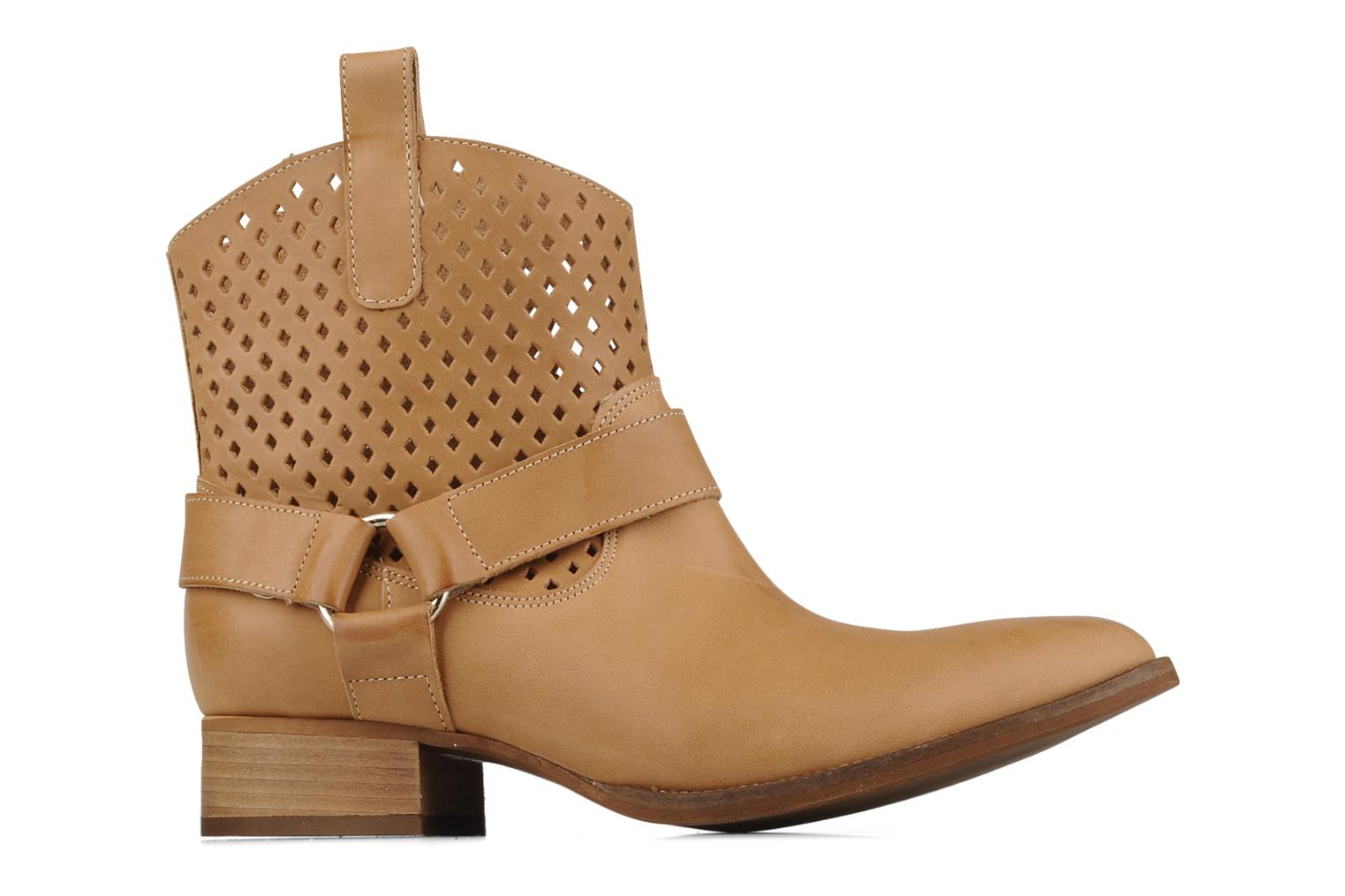 Ankle boots San Marina Alems Beige back view