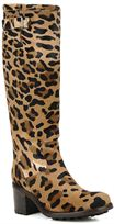 Beige bkl v.argent Leopard