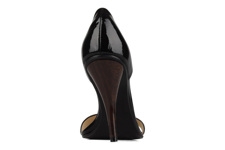 Sandales et nu-pieds COSMOPARIS Lolla Noir vue droite