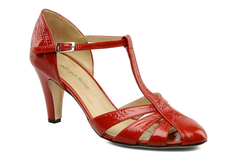 Escarpins Georgia Rose Vareo Rouge vue détail/paire