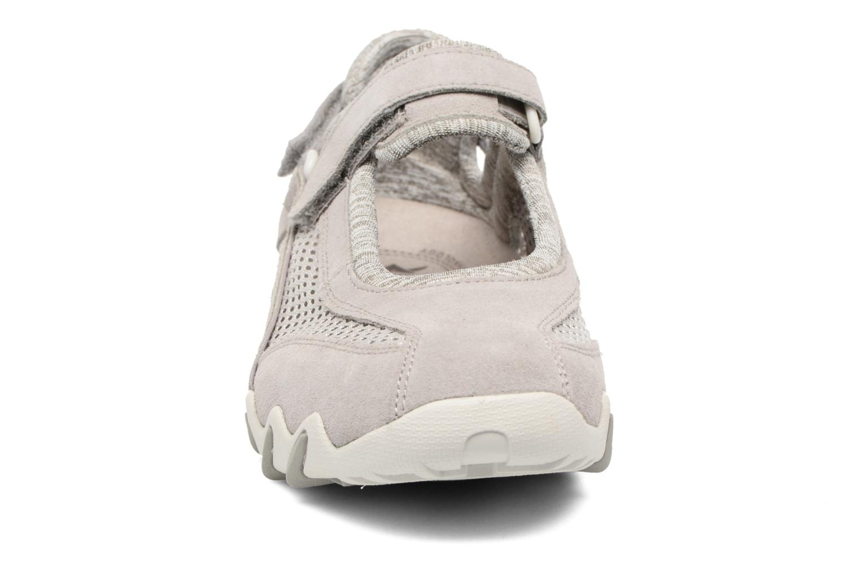 Chaussures de sport Allrounder by Mephisto Niro Gris vue portées chaussures