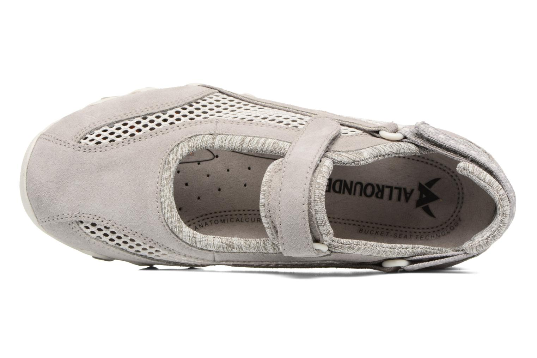 Chaussures de sport Allrounder by Mephisto Niro Gris vue gauche