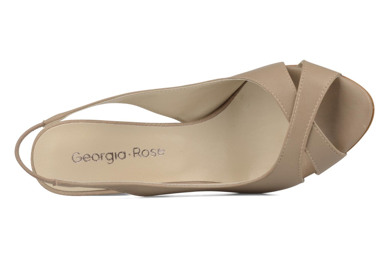 Sandals Georgia Rose Chiata Beige view from the left