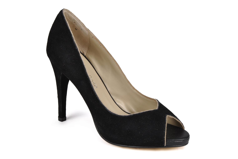 High heels Georgia Rose Macauliz Black detailed view/ Pair view