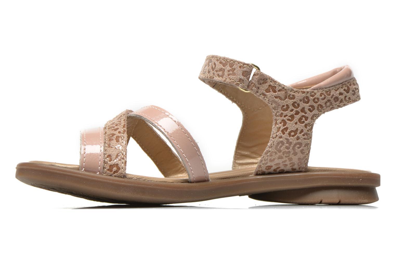 Sandales et nu-pieds Mod8 Jelguy2 Beige vue face