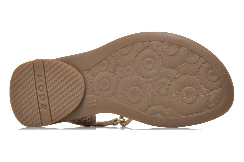 Sandales et nu-pieds Mod8 Jelguy2 Beige vue haut