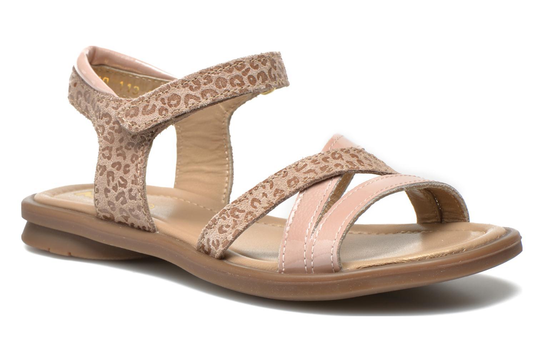 Sandales et nu-pieds Mod8 Jelguy2 Beige vue détail/paire