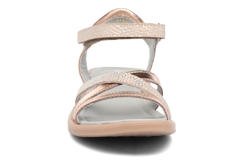 Sandales et nu-pieds Mod8 Jelguy2 Or et bronze vue portées chaussures