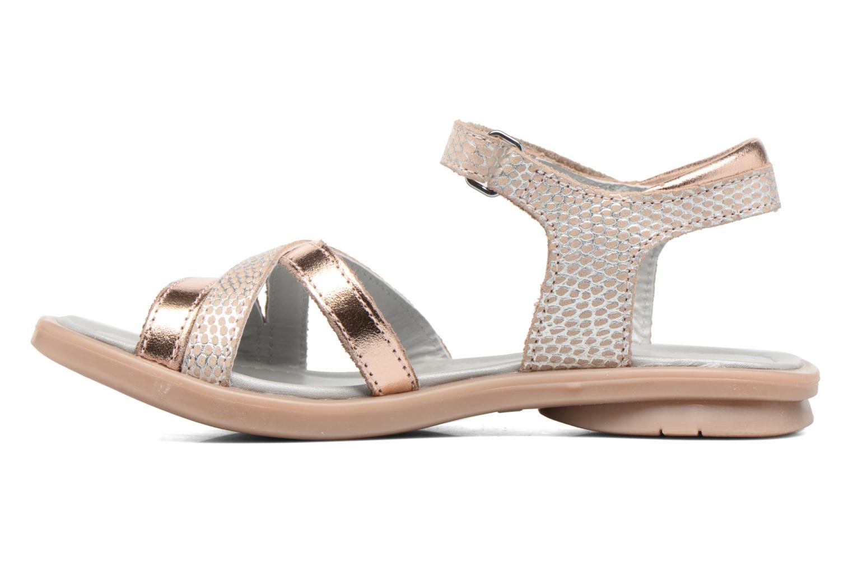 Sandales et nu-pieds Mod8 Jelguy2 Or et bronze vue face