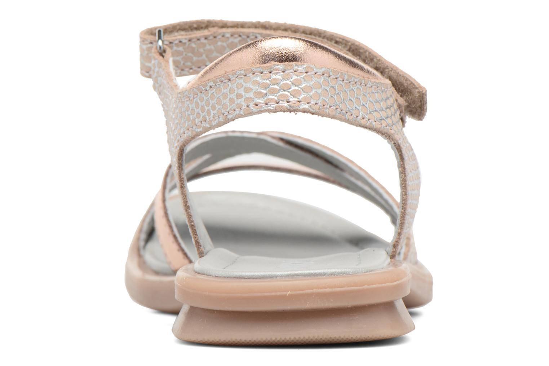 Sandales et nu-pieds Mod8 Jelguy2 Or et bronze vue droite