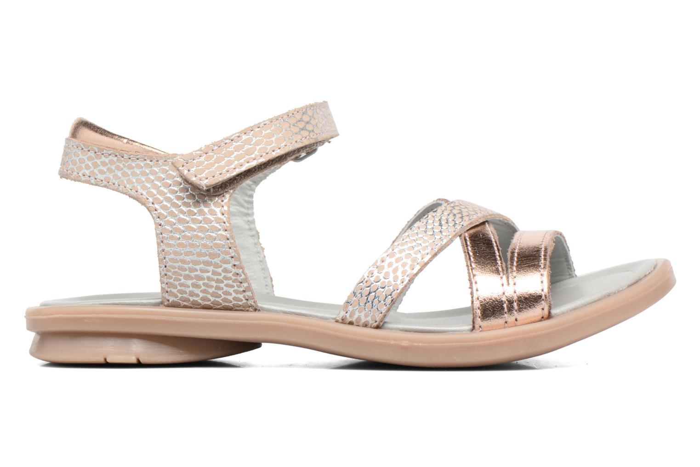 Sandales et nu-pieds Mod8 Jelguy2 Or et bronze vue derrière