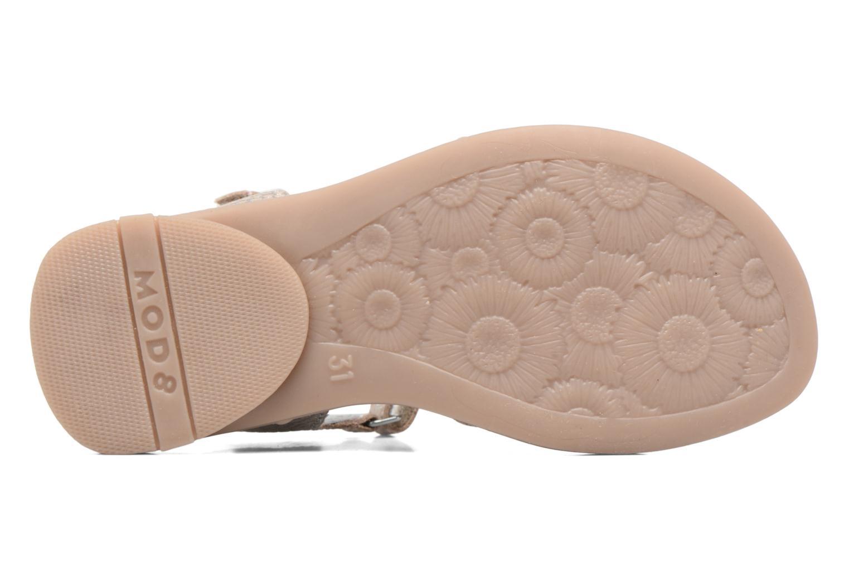 Sandales et nu-pieds Mod8 Jelguy2 Or et bronze vue haut