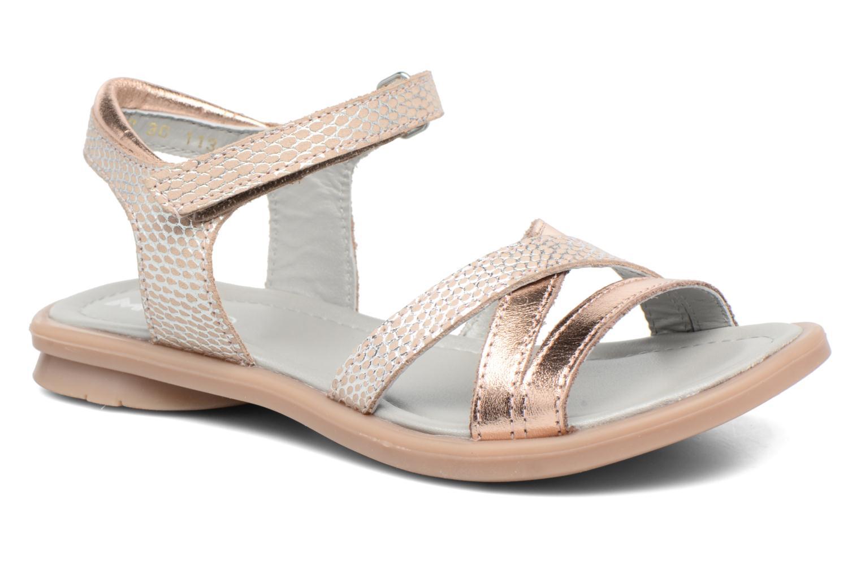 Sandales et nu-pieds Mod8 Jelguy2 Or et bronze vue détail/paire
