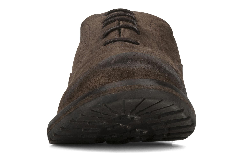 Schnürschuhe Koah Karl 143 braun schuhe getragen