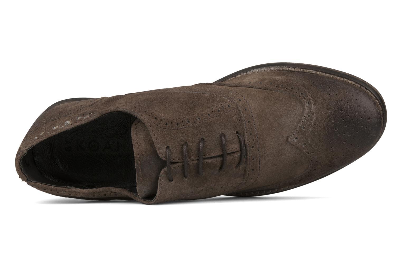 Chaussures à lacets Koah Karl 143 Marron vue gauche