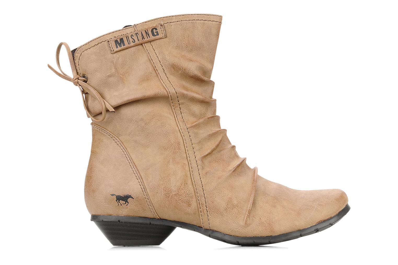 Bottines et boots Mustang shoes Simur Beige vue derrière