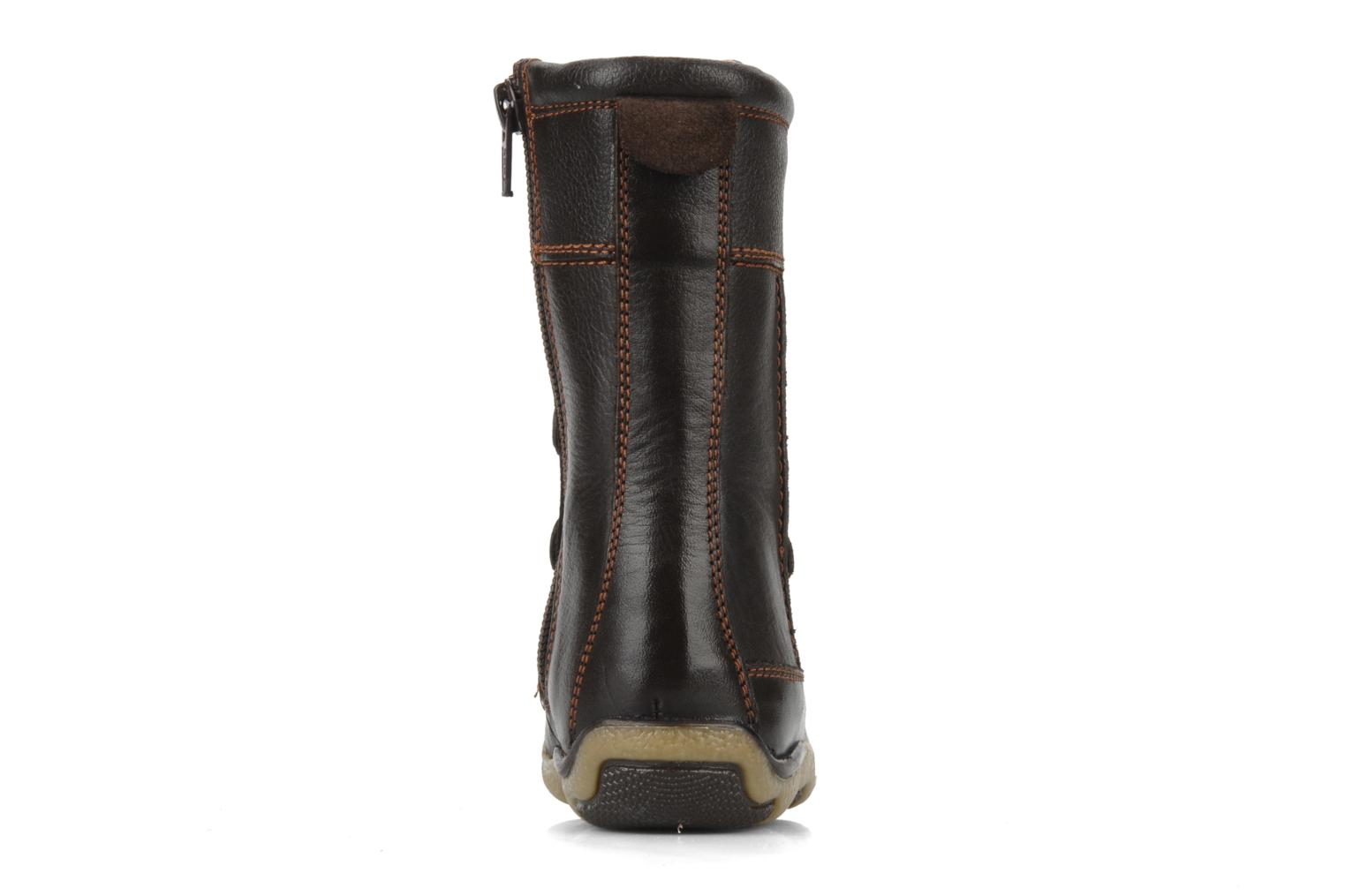 Boots & wellies Hush Puppies Spice Brown view from the right
