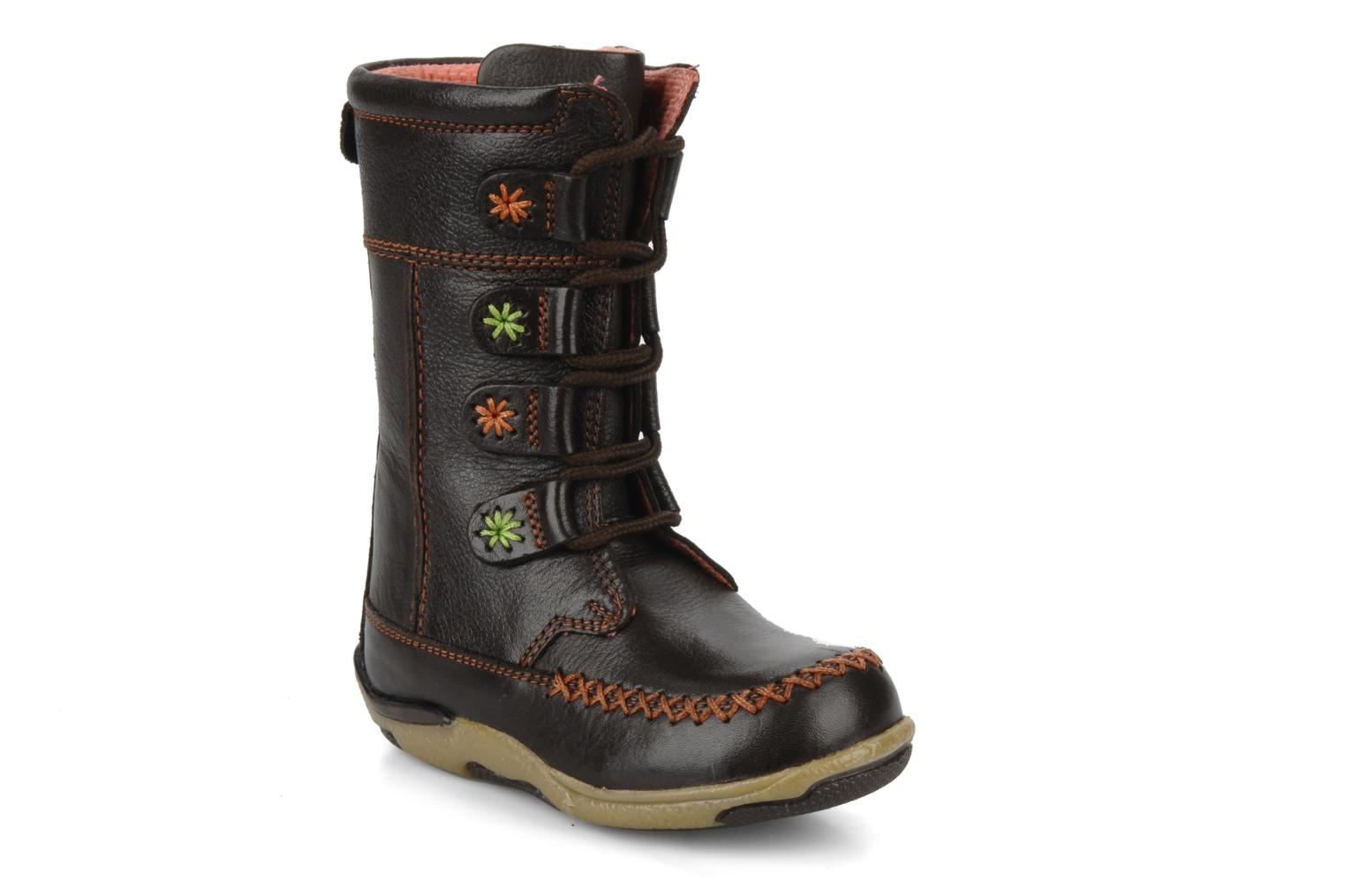 Boots & wellies Hush Puppies Spice Brown detailed view/ Pair view