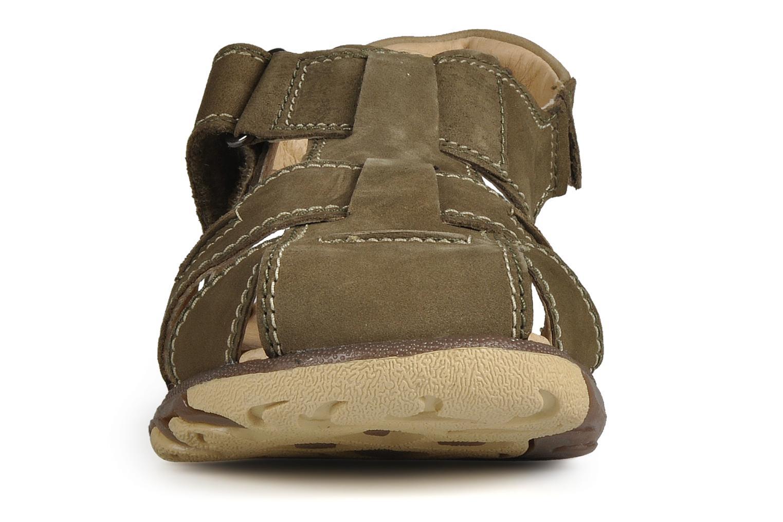 Sandali e scarpe aperte Giesswein Boyzi Verde modello indossato