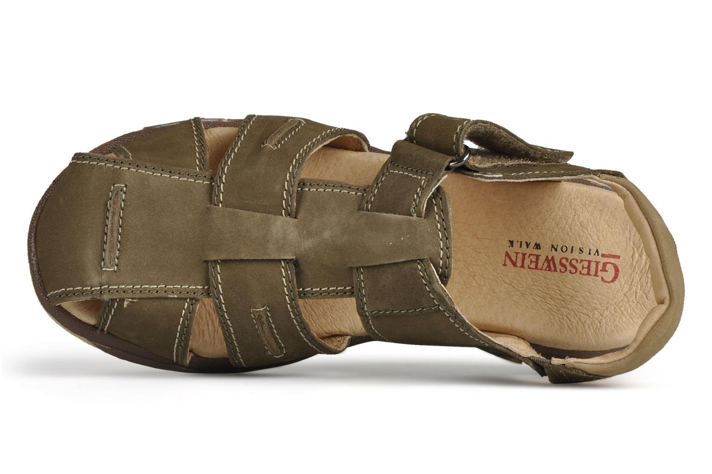 Sandali e scarpe aperte Giesswein Boyzi Verde immagine sinistra