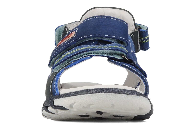 Sandals Giesswein Adoni Blue model view