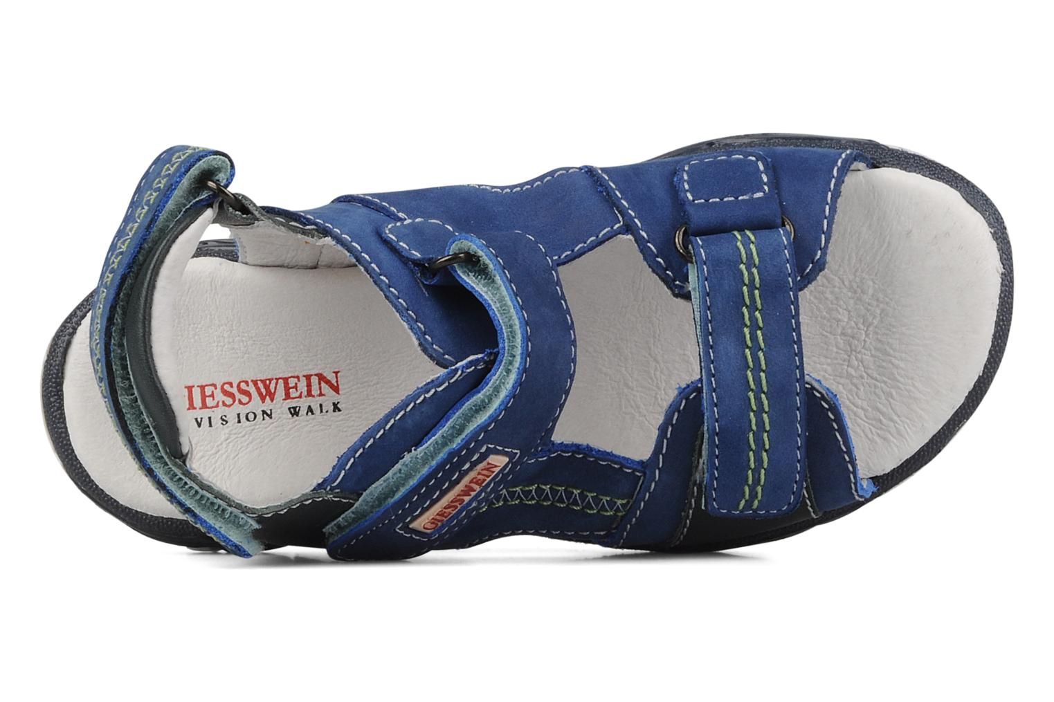 Sandals Giesswein Adoni Blue view from the left