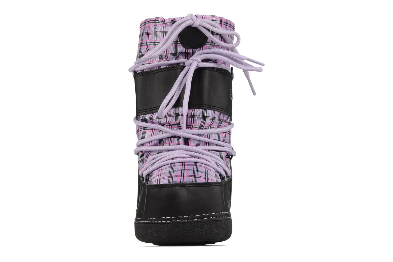 Bottes Hello Kitty Hk-liberte Violet vue portées chaussures