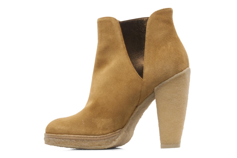 Bottines et boots Belle Tanja Marron vue face
