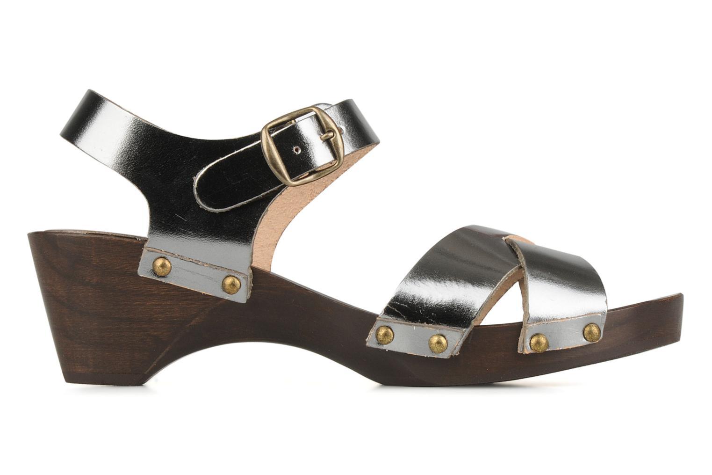 Sandali e scarpe aperte Bensimon Sandales exclu Argento immagine posteriore