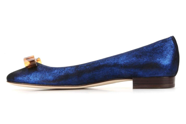 Bailarinas Mellow Yellow Kamini Azul vista de frente