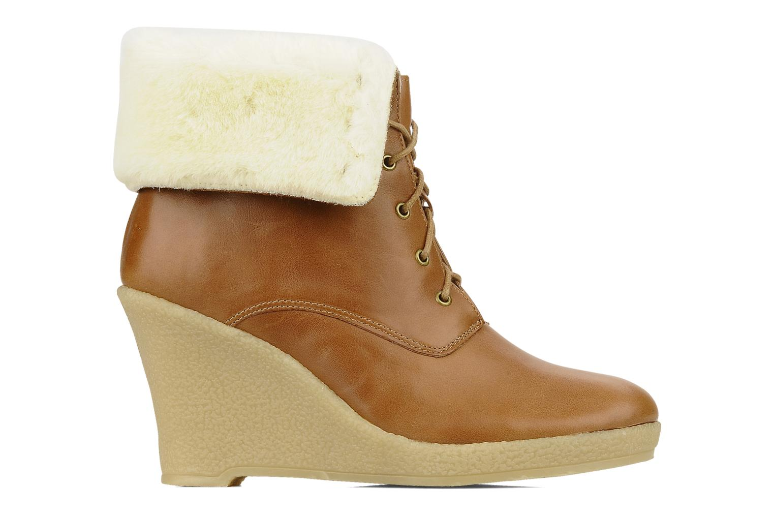 Ankle boots Mellow Yellow Kafka Brown back view