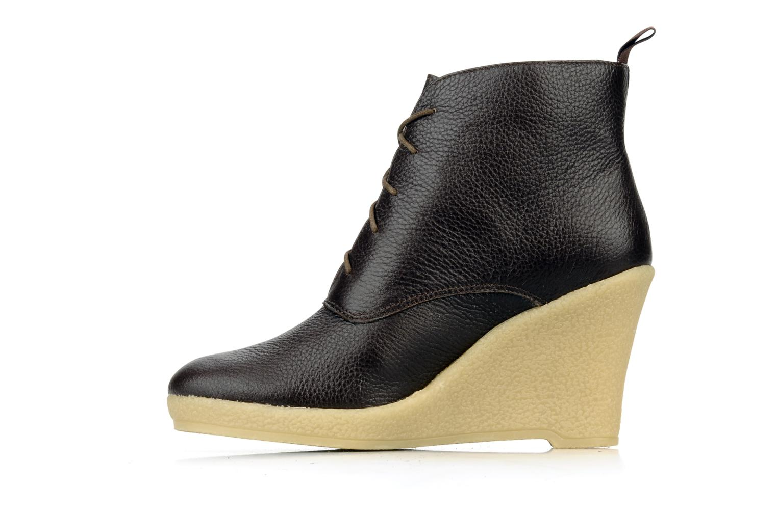 Ankle boots Mellow Yellow Koala Brown front view