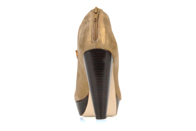 Bottines et boots Mellow Yellow Kanada Or et bronze vue droite