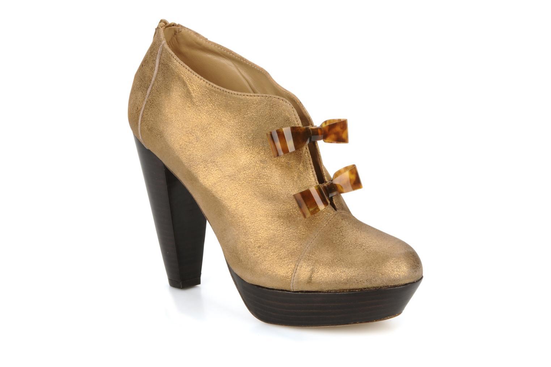 Bottines et boots Mellow Yellow Kanada Or et bronze vue détail/paire