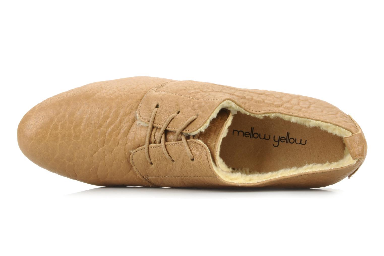 Snörade skor Mellow Yellow Kony Beige bild från vänster sidan