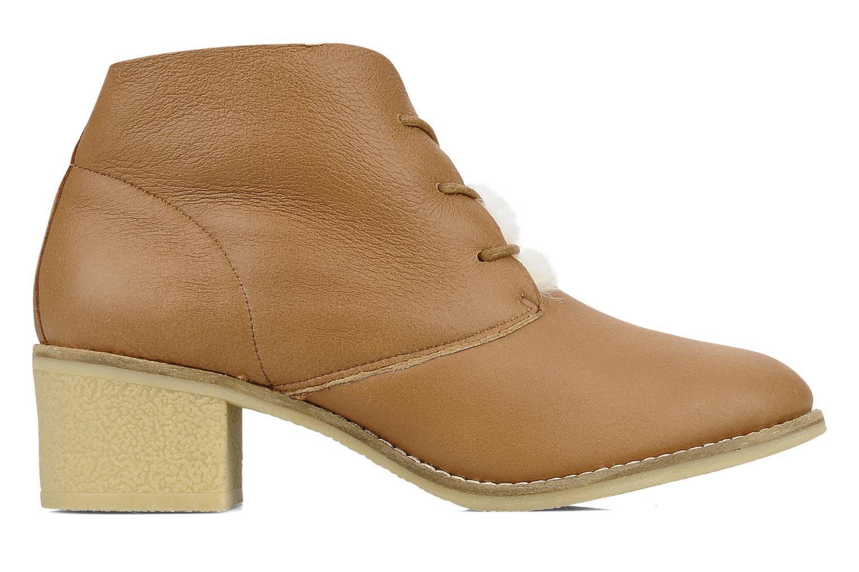 Chaussures à lacets Mellow Yellow Kolchic Marron vue derrière